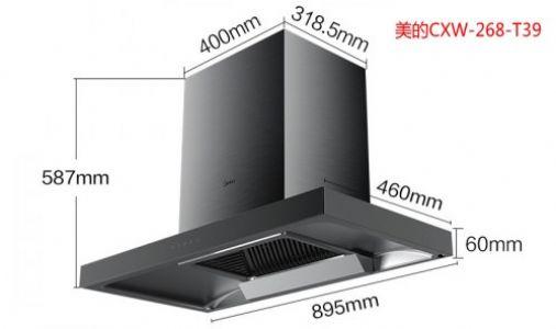 美的CXW-268-T39自动清洗顶吸油烟机吸力能怎么样?洗得干净吗?